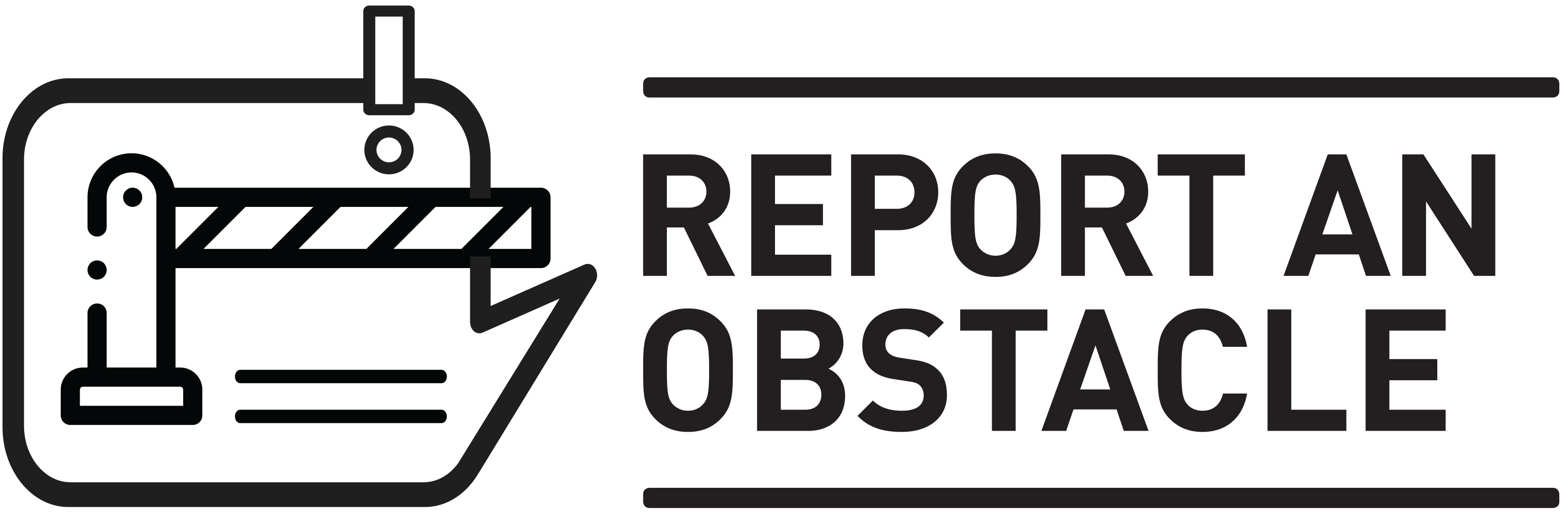 Report an obstacle
